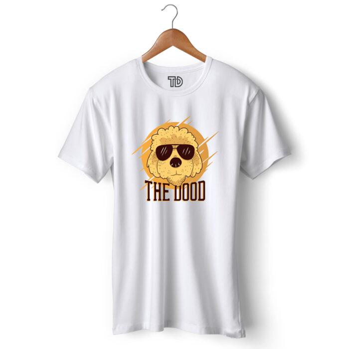 Goldendoodle Dog Men's Round Neck Regular Fit T-Shirt
